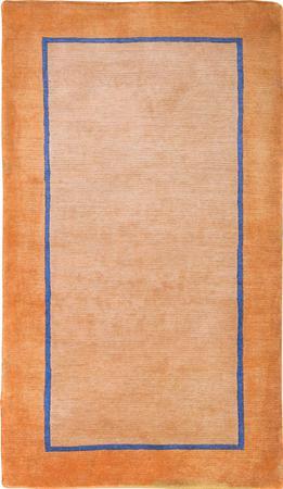 Hand Knotted Iran Gabbeh 3' x 5' Orange LT Rug