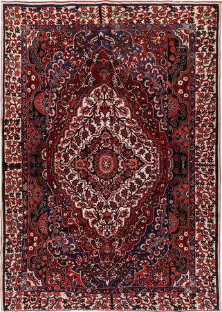 """Hand Knotted Iran Bakhtiari 9'2"""" x 12'7"""" Red DK Rug"""