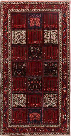 "Hand Knotted Iran Bakhtiari 5' x 9'10"" Multi Rug"