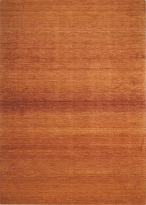 Nourison Linear Glow GLO01 Orange/Rust