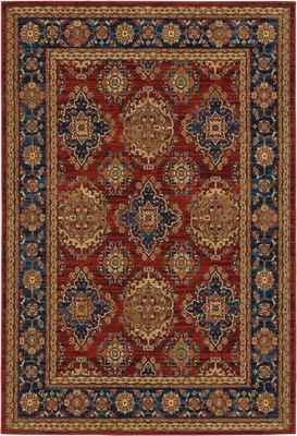 Oriental Weavers Ankara 1802R Red/Burgundy
