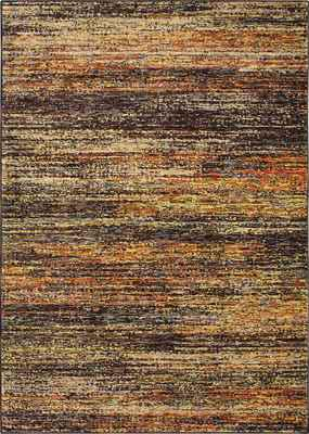Oriental Weavers Atlas 8037C Orange/Rust