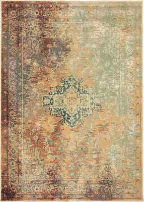 Oriental Weavers Dawson 8324A Orange/Rust
