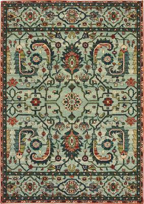 Oriental Weavers Dawson 8490B Green