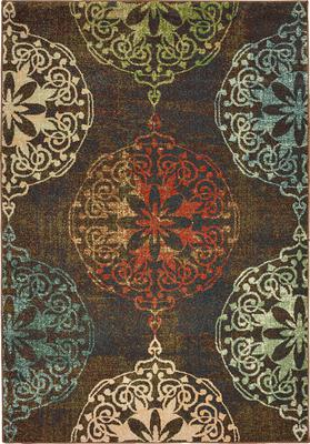 Oriental Weavers Dawson 8522B Brown