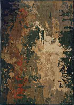 Oriental Weavers Kasbah 3807A Brown