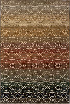 Oriental Weavers Kasbah 3945B Brown