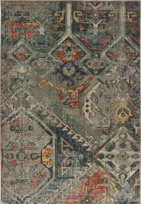 Oriental Weavers Mantra 001X7 Gray/Silver