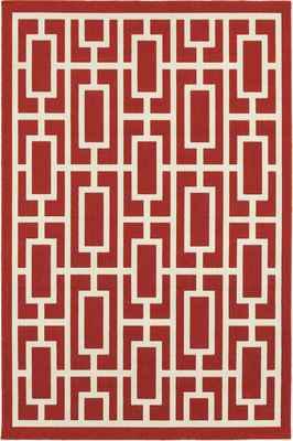 Oriental Weavers Meridian 9754R Red/Burgundy