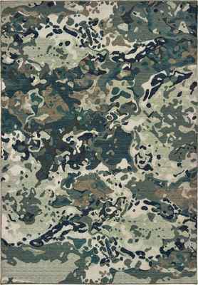 Oriental Weavers Montage 090LE Green