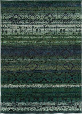 Oriental Weavers Nomad 8123G Green