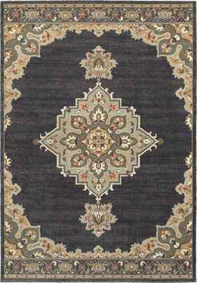 Oriental Weavers Pasha 072E2 Black