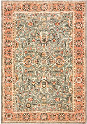 Oriental Weavers Toscana 9537B Orange/Rust