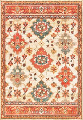 Oriental Weavers Toscana 9570A Orange/Rust